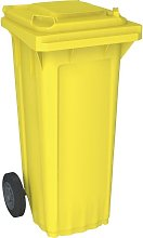 Cubo de baena WAVE 80-litros amarillo