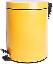 Cubo De Basura 5 L Amarillo