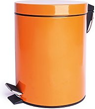 Cubo De Basura 5 L Naranja