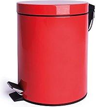 Cubo De Basura 5 L Rojo