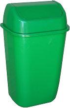 Cubo de basura 60 litros verde