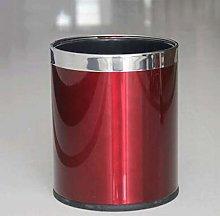 Cubo de Basura Basura de acero inoxidable simple y