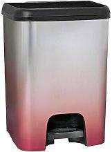 Cubo de basura con pedal Class 26 litros en color