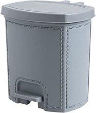 Cubo de basura con tapa para inodoro con tapa