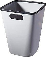 Cubo de basura cuadrado para interiores con mango