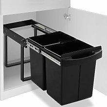 Cubo de basura de cocina extraíble reciclaje