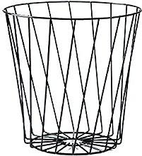 Cubo De Basura De Hierro Cubo De Basura Hogar