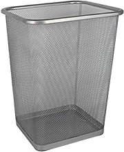 Cubo de basura de malla de metal redondo/cuadrado,