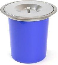 Cubo de basura empotrable para encimera de cocina,