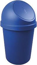 Cubo de basura H700xØ403mm 45l azul HELIT
