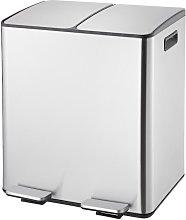 Cubo de basura para reciclado RALPH - 2 x 20 L -