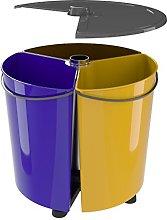Cubo de Basura Reciclaje con Tapa para Cocina y
