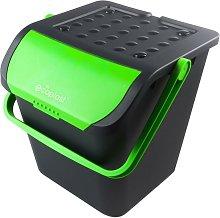 Cubo de basura selectiva 35 litros con tapa color