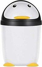 Cubo de la basura Pingüino Bote de basura con
