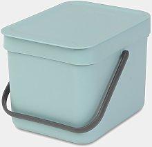Cubo de reciclaje Brabantia Sort & Go Menta 6L