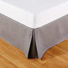 Cubresomier 90x190 de lino gris