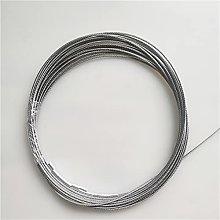 cuerda de alambre de acero, 100m / 50m 304 acero