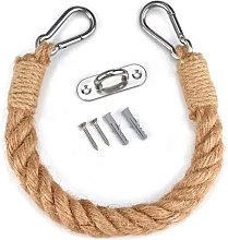 Cuerda higienico Papel de la vendimia titular Loo