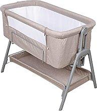 Cuna portátil para bebé, marco de aluminio,