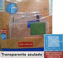 Cuncial Plástico Protector para tendedero