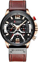 CURREN 8329 reloj de cuarzo de los hombres de