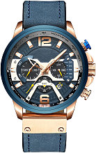 CURREN 8329 Reloj de cuarzo para hombres de