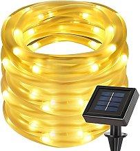 cuzile Manguera LED Solar 50 LED Resistente al