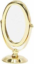 CWDOG Color Dorado Vintage Espejo de Metal Espejo
