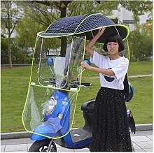CXQD Motocicleta Sombrilla del Sol Cubierta De La