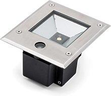 Dale, foco LED suelo de 9 W c/sensor atardecer