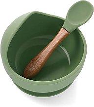 DaMohony Silicona Baby Succión Bowl Succión