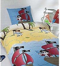 Daydream Funda de edredón, Algodón, Multicolor,