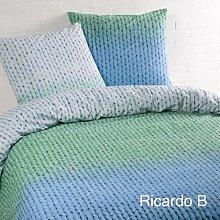 Daydream Ricardo-Juego de Cama, Color Verde,