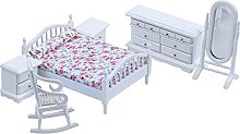DealMux 1:12 casa de muñecas en miniatura de