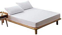 DealMux 160X200 funda de colchón 100% impermeable