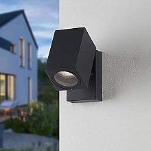 DealMux aplique exterior aluminio antracita Gu10