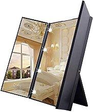 DealMux Espejo de tocador con luz Espejo de