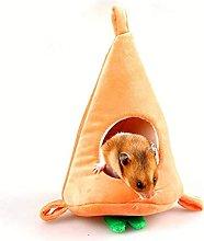 DealMux forma de zanahoria nido de hámster lindo