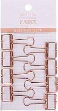 DealMux lindo clip de carpeta de diseño hueco de