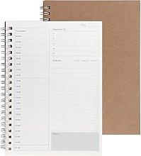 DealMux Notebook, Planificador Libro Mensual