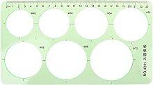 DealMux Plantilla geométrica de círculos de