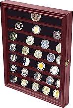 DECOMIL - Vitrina de monedas con puerta
