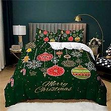 decoración Christmas Juego de Ropa de Cama de