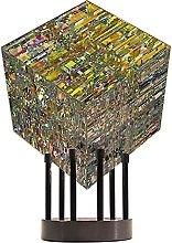 Decoración creativa de la escultura de vidrio del