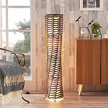 Decorativa lámpara de pie para salón Joas,