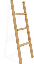 Decowood - Escalera de madera olivo peque–a