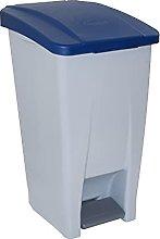 Denox DEN038 Contenedor Selectivo 60 litros, Azul,