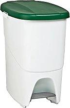 Denox DEN102 Pedalbin Ecológico 25 litros, Verde,