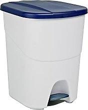 Denox DEN106 Pedalbin Ecológico 40 litros, Azul,
