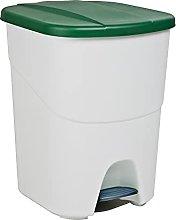 Denox DEN107 Pedalbin Ecológico 40 litros, Verde,